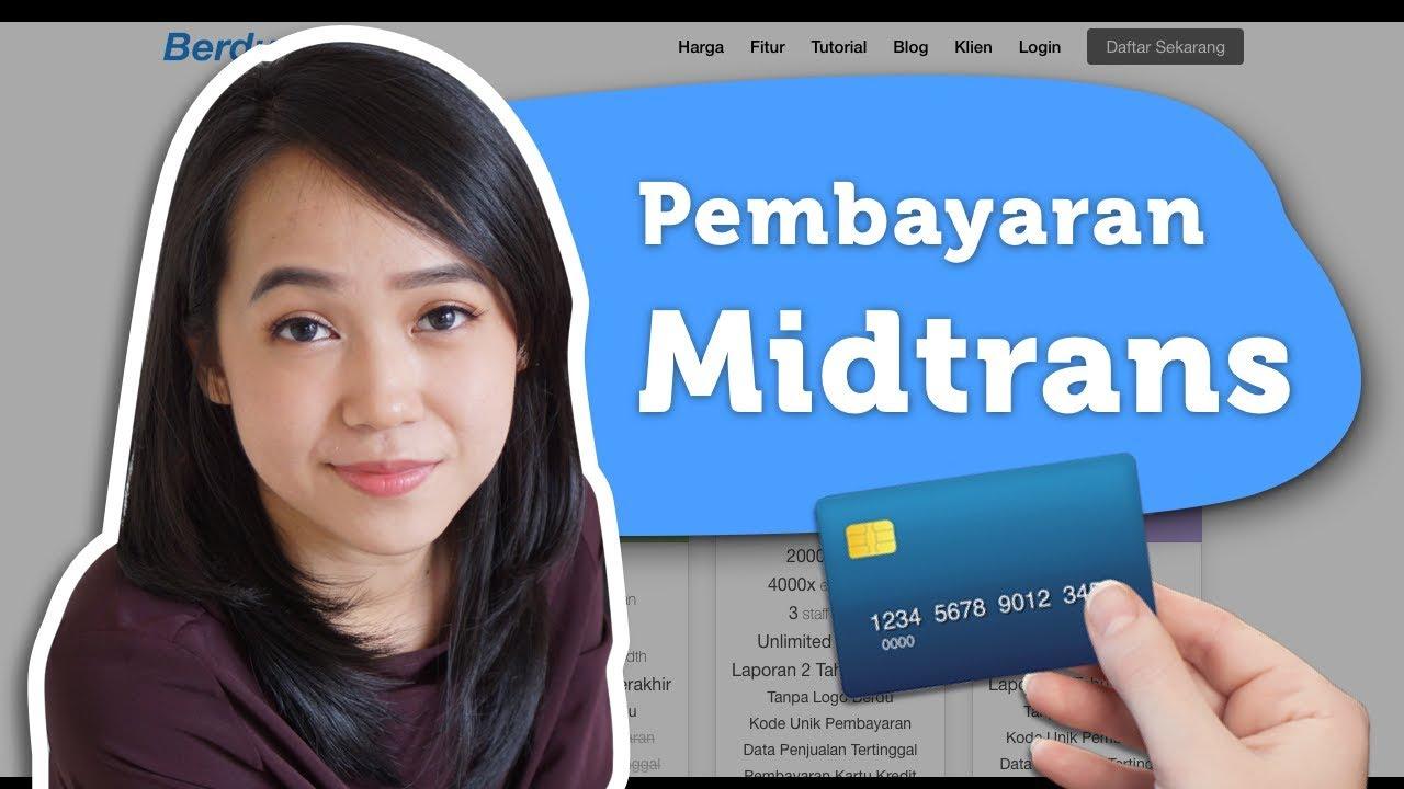 Pembayaran Kartu Kredit Go Pay Dan Indomaret Dengan Midtrans Youtube