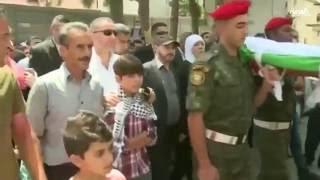 تشييع طفل فلسطيني قتله #الجيش_الإسرائيلي