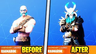 *NEW* How To UPGRADE SEASON 5 SKINS in Fortnite! HOW TO UPGRADE RAGNAROK SKIN & DRIFT SKIN Season 5!