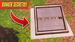 NEW BUNKER SECRETO fortnite AREA (NOT AVAILABLE)