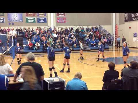 Kate Keegan Volleyball Recruitment Video