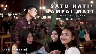 Download Mp3 Satu Hati Sampai Mati - Thomas Arya Cover By Tri Suaka