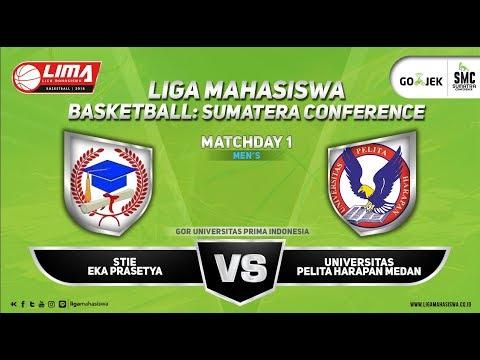 MEN'S STIE Eka Prasetya VS Universitas Pelita Harapan LIMA BASKETBALL SMC 2018