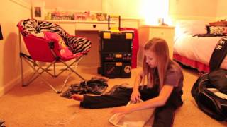 Autumn Miller Packing for Competition