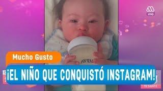 Lucas, el niño con Síndrome de Down que conquistó Instagram - Mucho gusto 2018
