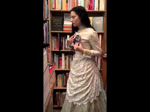 Virginia Poe Sighting! Kramerbooks, Washington, DC