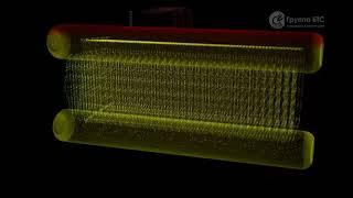 Принцип работы котла ДЕ 25-14 ГМО в 3D