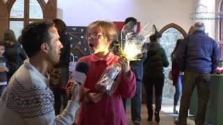 A pequena Nerea Agrafojo conseguiu o premio ó mellor traballo artístico