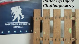 Pallet Up Cycle Challenge 2015 Update, Wwp