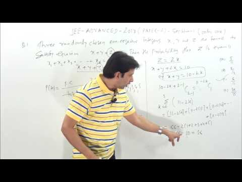 JEE- ADVANCED 2017 PAPER- 2   Solutions  Sections-1 ( Only one correct)-1