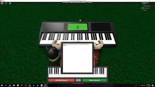 jingle bells on roblox piano