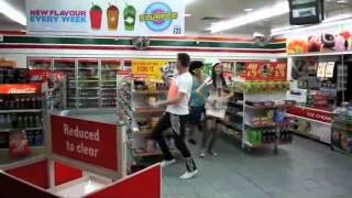 lmfao flash mob brisbane
