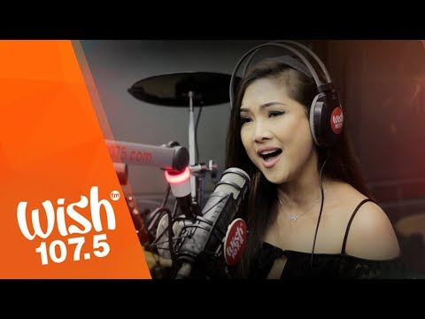 Sheryn Regis sings  Come In Out Of The Rain  LIVE on Wish 107.5 Bus