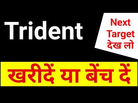 Trident, खरीदें या बेंच दें, Next Target । Trident Share News । Trident Share Price Analysis