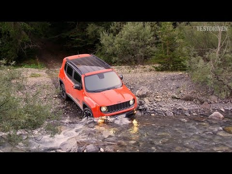 2015 Jeep Renegade Trailhawk - Offroad & Aerial shots