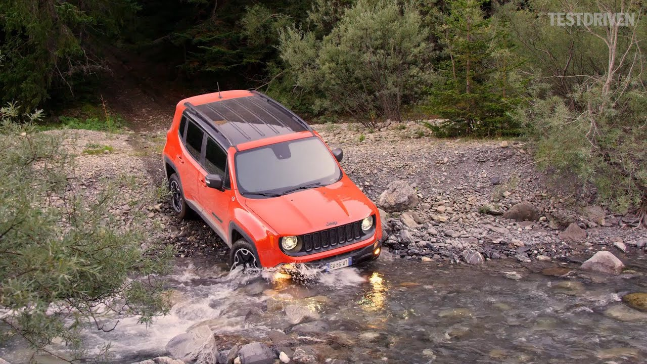 2015 Jeep Renegade Trailhawk Offroad Amp Aerial Shots Youtube