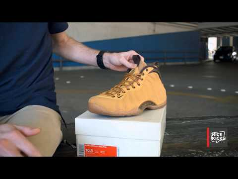 """Nike Air Foamposite One """"Wheat"""" Unboxing"""