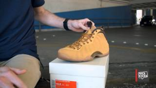 "Nike Air Foamposite One ""Wheat"" Unboxing"