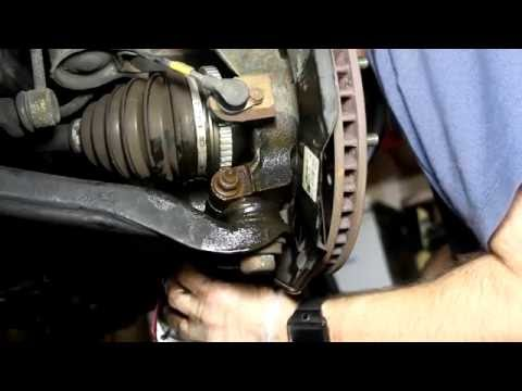 Installing Lower Ball Joint Passenger's Side Testing And Lube Hyundai Santa Fe 2001-2006 Thorough