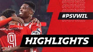 DUMFRIES = BACK! 😎   HIGHLIGHTS PSV - Willem II