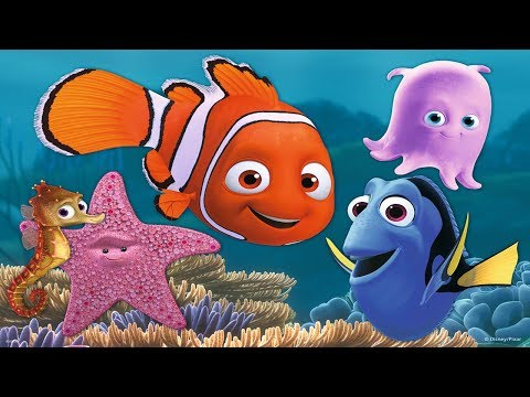 Gertit Plays With Finding Dory Fish And Nemo Gameplay - Let's Enjoy It