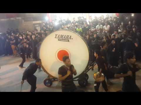 استعراض لمواكب الحسينية في موكب سبايا الحسين
