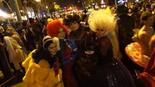 Only In Los Angeles - West Hollywood Halloween Parade, Santa Monica