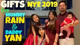 OUR GIFTS for MOMMY RAIN & DADDY YAN NEW YEAR 2019
