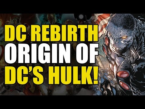 The Origin Of DCs Hulk! New Age of HeroesDamage: Vol 1