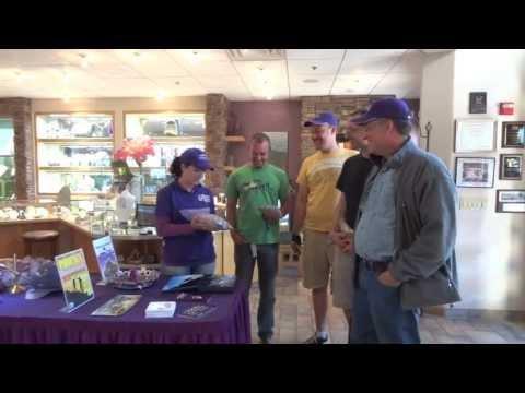 Sami's Arizona Four Peaks Amethyst Mine Tour Group #1
