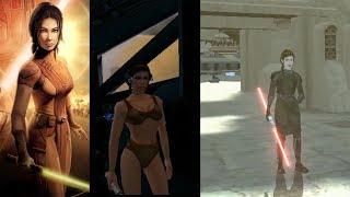 KOTOR Bastila Romance (Dark & Light Side Endings) Star Wars Knights Of The Old Republic