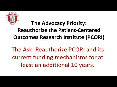 2019 STS Legislative Fly-In: PCORI
