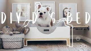 DIY Modern Dog Bed | Easy Build for Beginners!