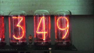 Nixie Tube Clock Tubehobby In-18 Valves