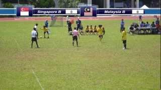 Prelims Match (1st Half): Singapore B vs Malaysia B