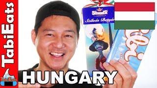 Japanese Try Hungarian Snacks PART 1 (Taste Test)