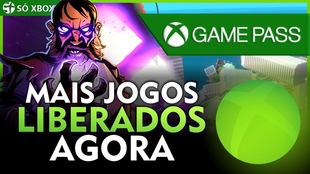 É SÓ BAIXAR! NOVOS JOGOS LIBERADOS AGORA no XBOX GAME PASS no XBOX ONE, XBOX SERIES e PC!