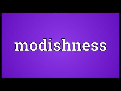 Header of modishness
