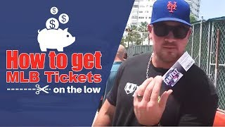 How to buy MLB tickets on the low! thumbnail