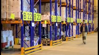 видео: Система SEVCO WMS на складском комплексе компании МИСТРАЛЬ АЛКО