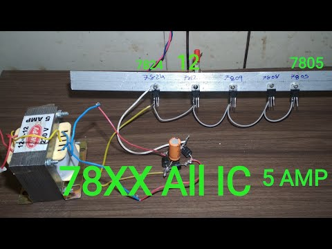 Voltage Regulator | How To Use  78XX  All ic