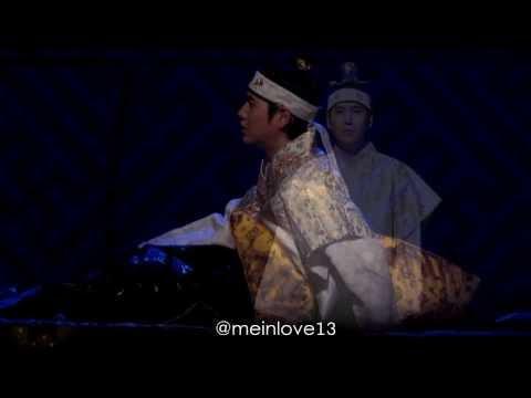 [Fancam] 140210 Kyuhyun - Drama Scene #TMES Musical