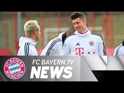 Lewandowski fit for FC Bayern vs. Bremen