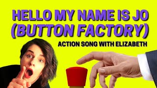 ⭐Brain Break for Kids ⭐Awesome Kids Action Song⭐ Hello, My Name is Joe