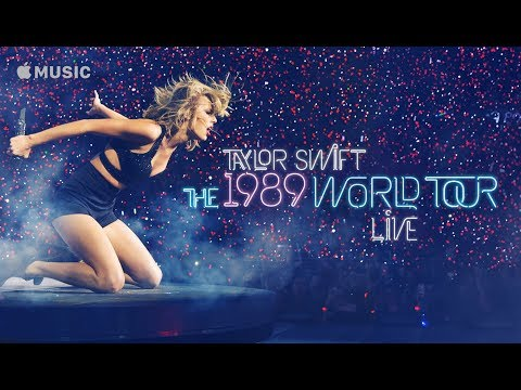 Taylor Swift - 1989 World Tour Live on Apple Music | Commercial