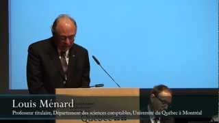 Louis Ménard, Département des sciences comptables, Université du Québec à Montréal