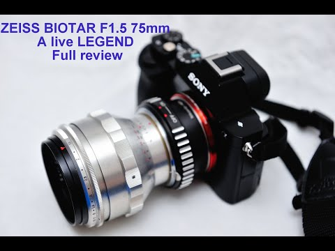 Carl Zeiss BIOTAR 1.5/75mm Legendary Lens. Detailed Review With Samples