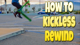 How To Kickless Rewind On A Scooter SCOOTER TRICKS FOR BEGINNERS