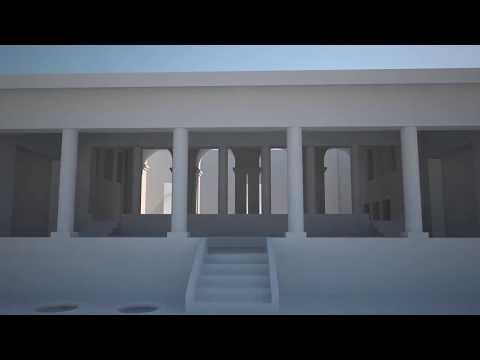 Simple 3D model of the Roman Villa at Somma Vesuviana