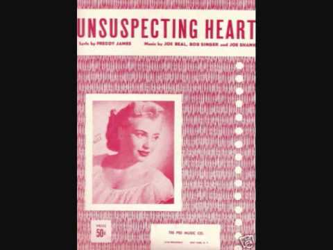 Sunny Gale - Unsuspecting Heart (1954)